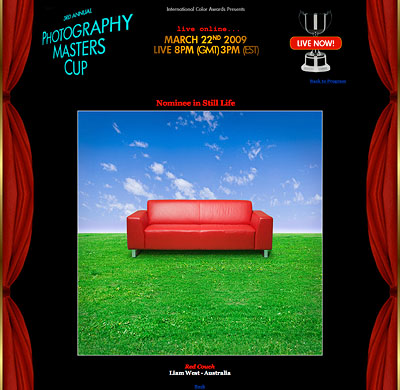 Photography Masters Cup - Red Couch