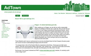 Click here to go to AdTown article